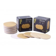 Gold Velcro Discs 75mm