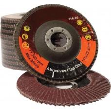 Aluminium Oxide Flap Discs 115mm
