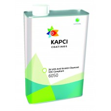 Kapci 6050 2K UHS Anti-Scratch Clearcoat VOC Compliant 7.5L