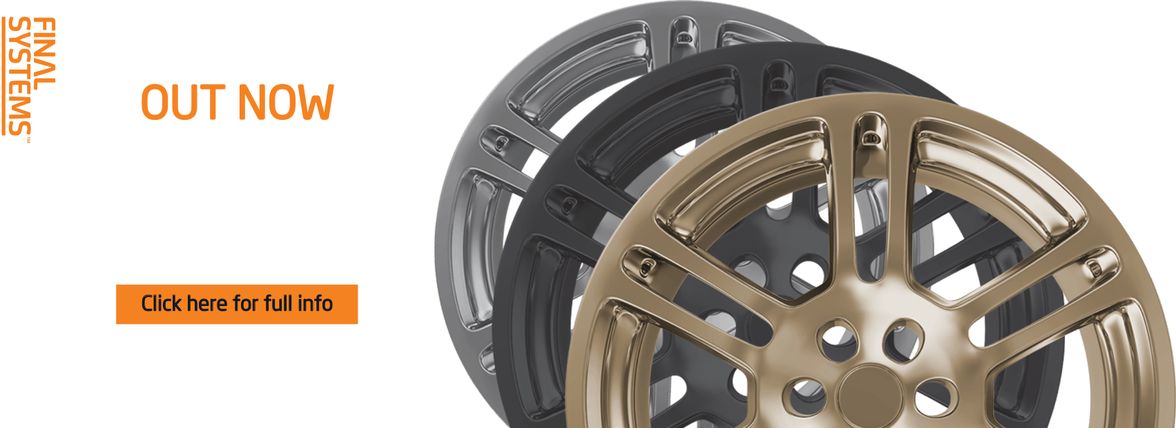 Alloy Wheel Colour System OUT NOW